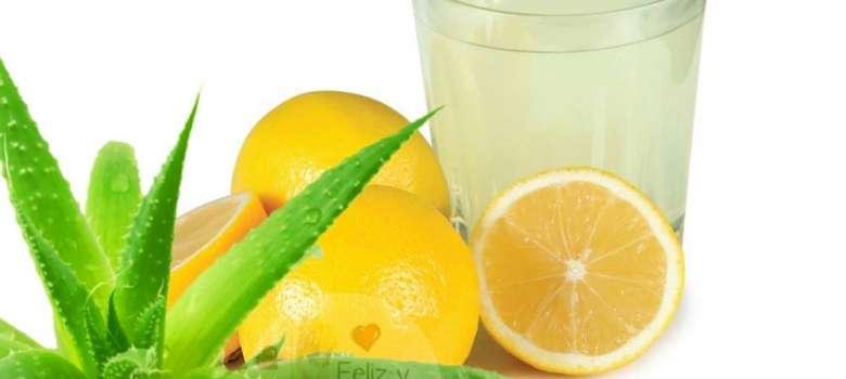 Aloe vera y limón
