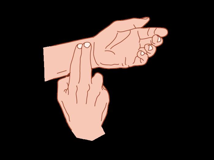 Como tomar el pulso